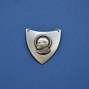 Ryngraf srebrny ze świętym Janem Pawłem