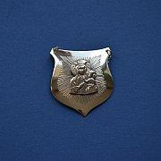 Ryngraf srebrny z Matką Boską Częstochowską