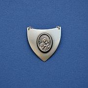 Ryngraf srebrny z Matką Boską Nieustającej Pomocy