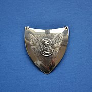 Ryngraf srebrny Matka Boska Ostrobramska