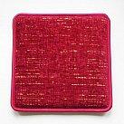 Poduszka na ławkę w kolorze bordo vilena 108